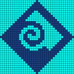 Alpha Friendship Bracelet Pattern #22404