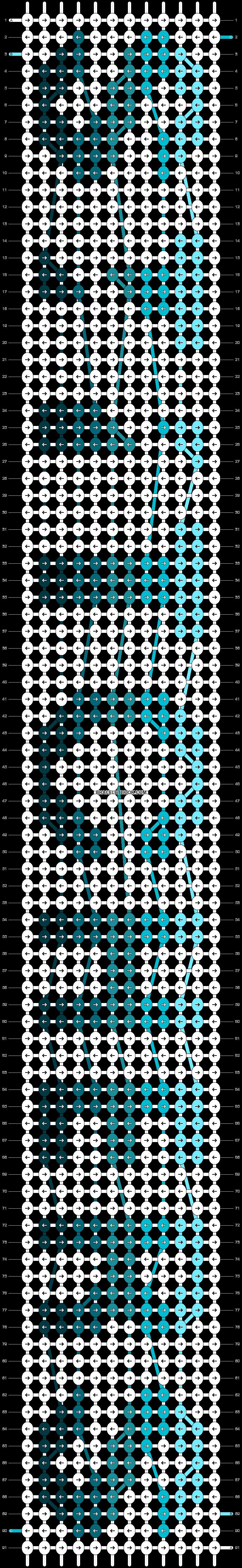 Alpha pattern #22406 pattern