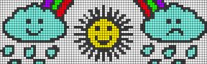 Alpha pattern #22411