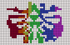 Alpha pattern #22422