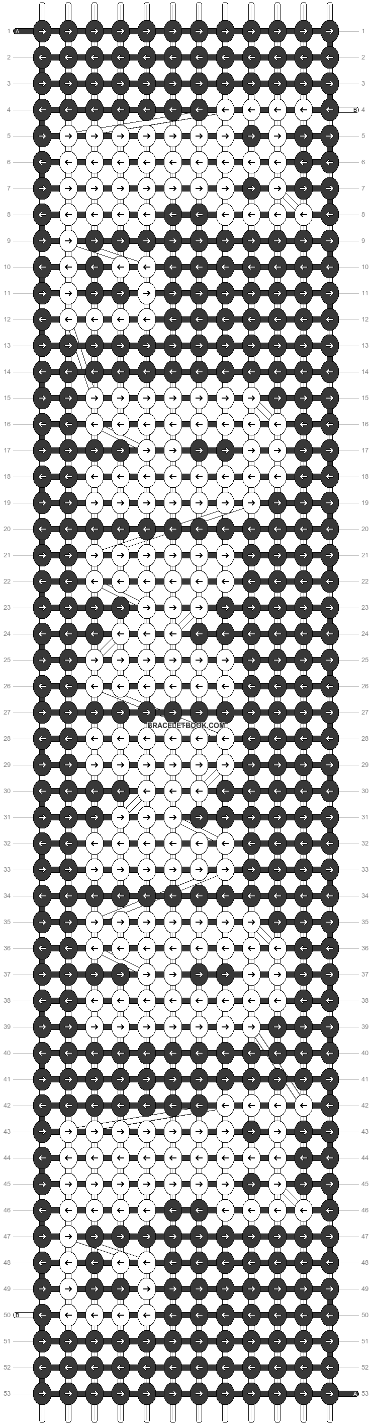 Alpha pattern #22423 pattern