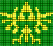 Alpha pattern #22425