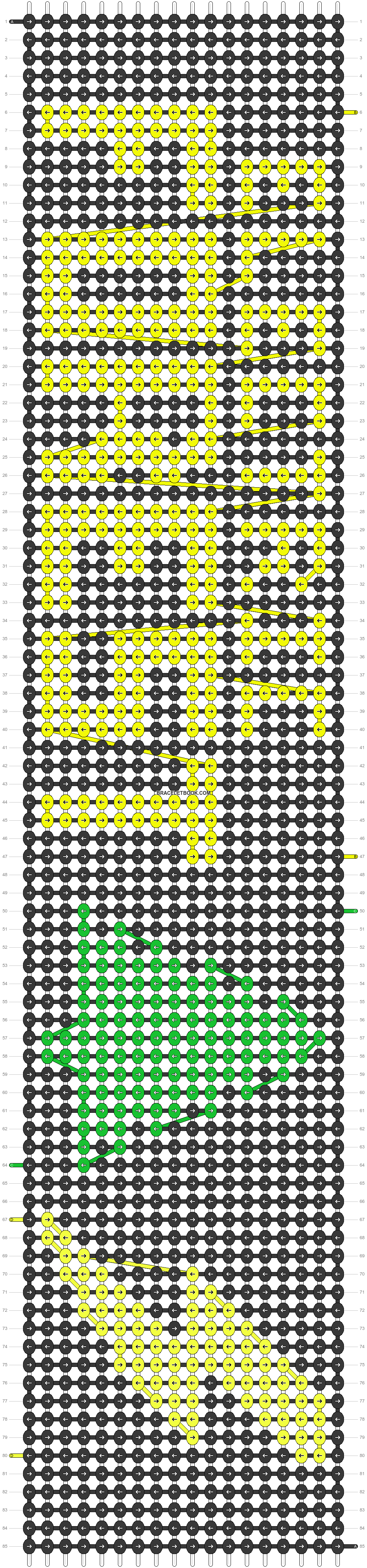 Alpha pattern #22426 pattern