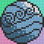 Alpha pattern #22436