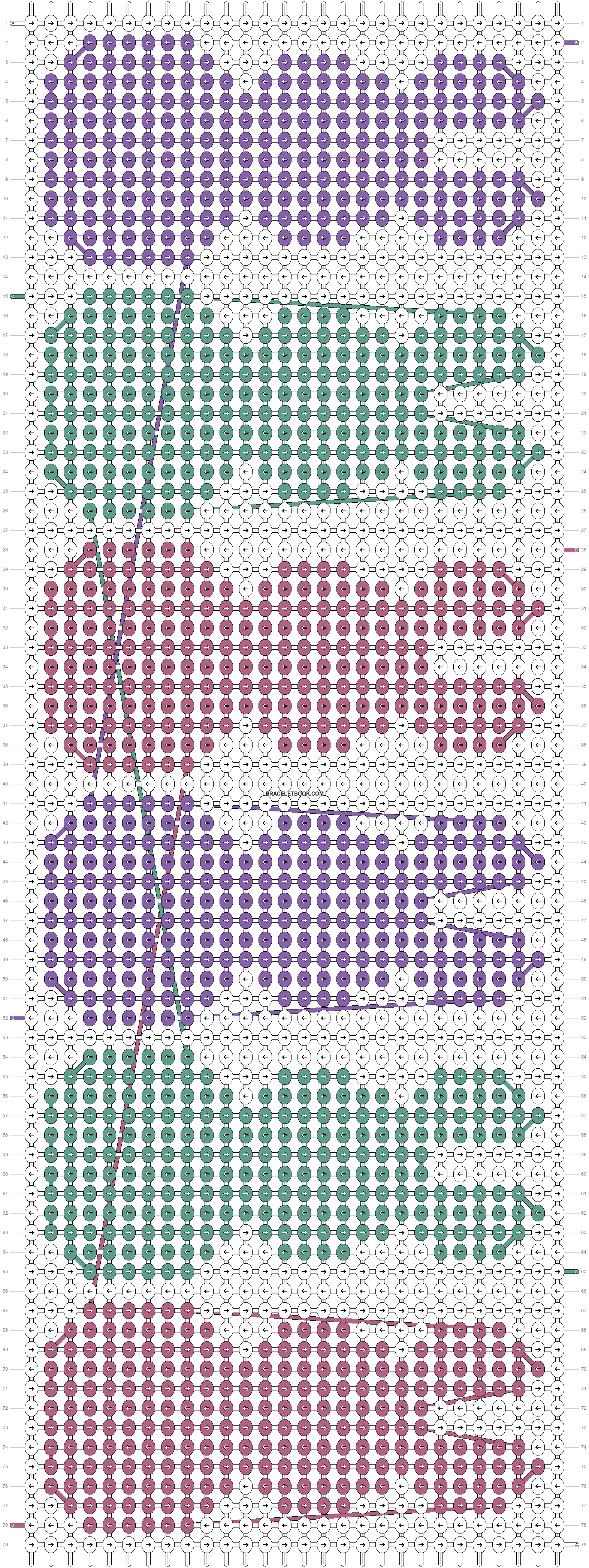 Alpha pattern #22445 pattern