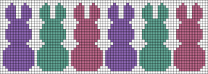 Alpha pattern #22445