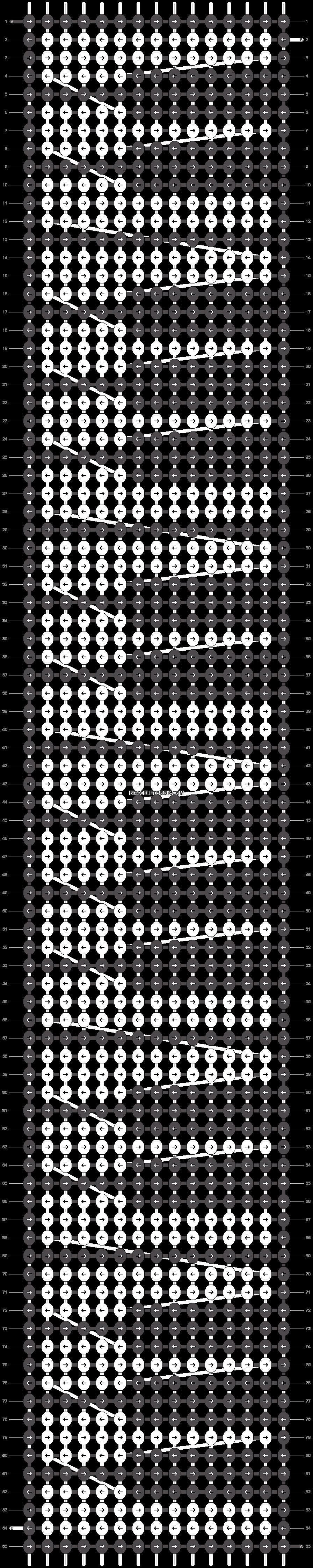 Alpha pattern #22450 pattern