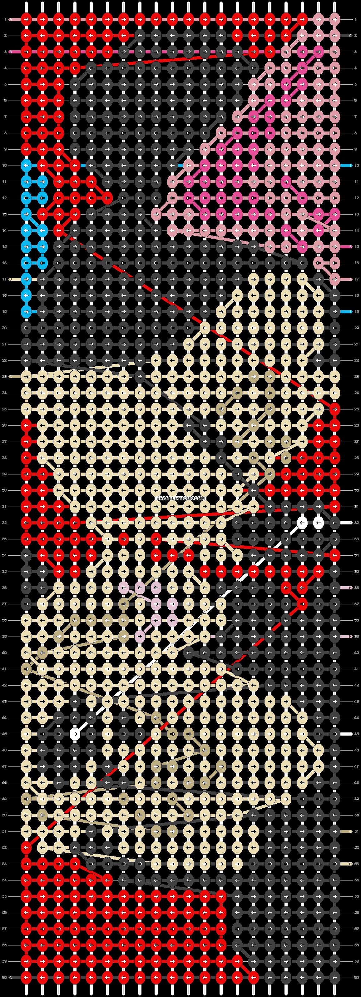 Alpha pattern #22451 pattern