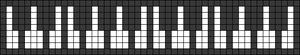 Alpha Friendship Bracelet Pattern #22455