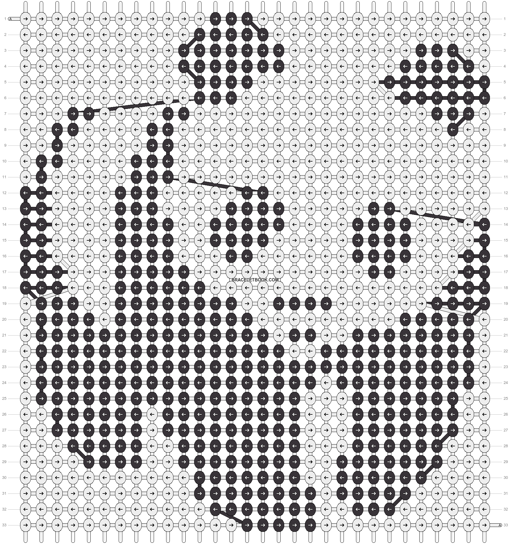 Alpha pattern #22456 pattern