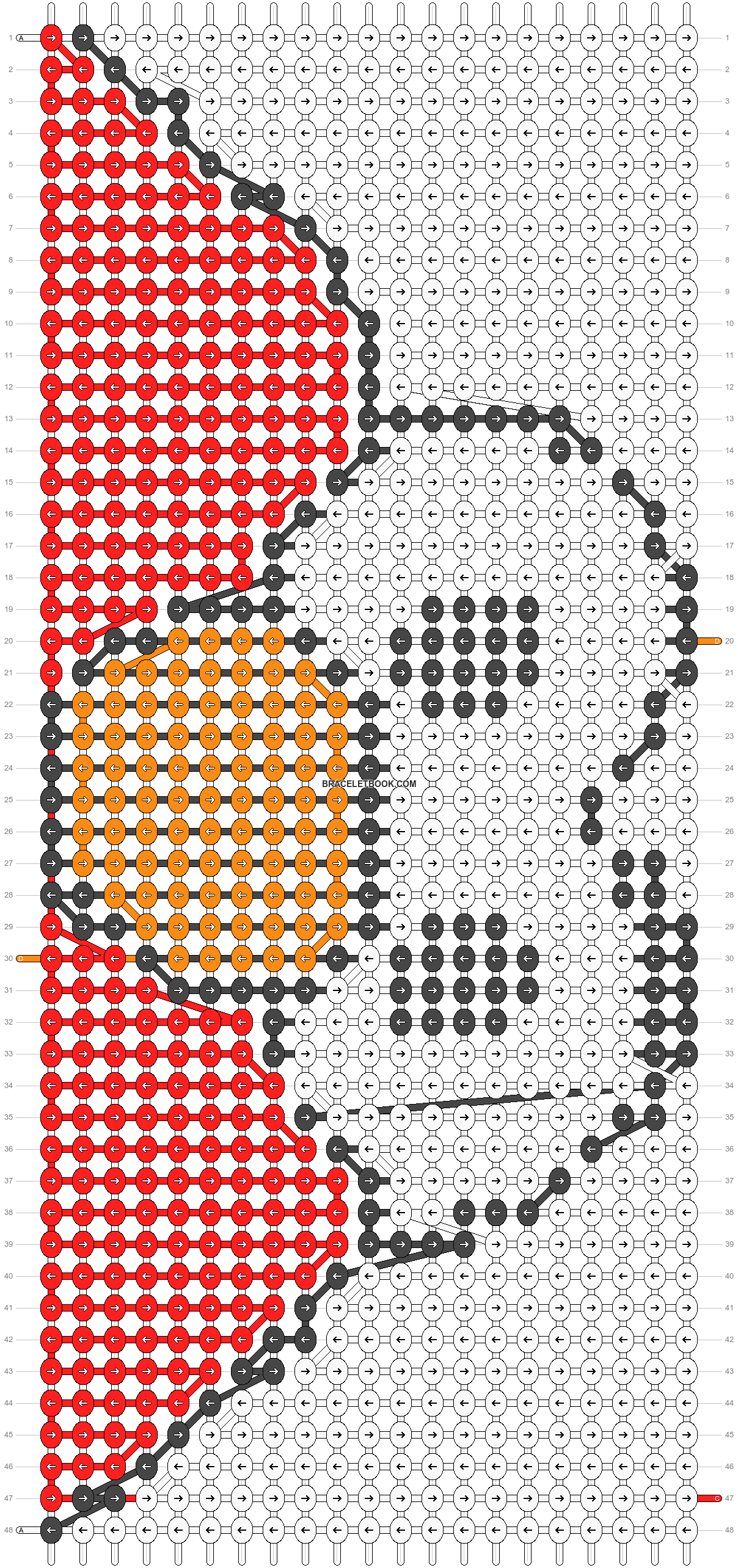Alpha pattern #22458 pattern