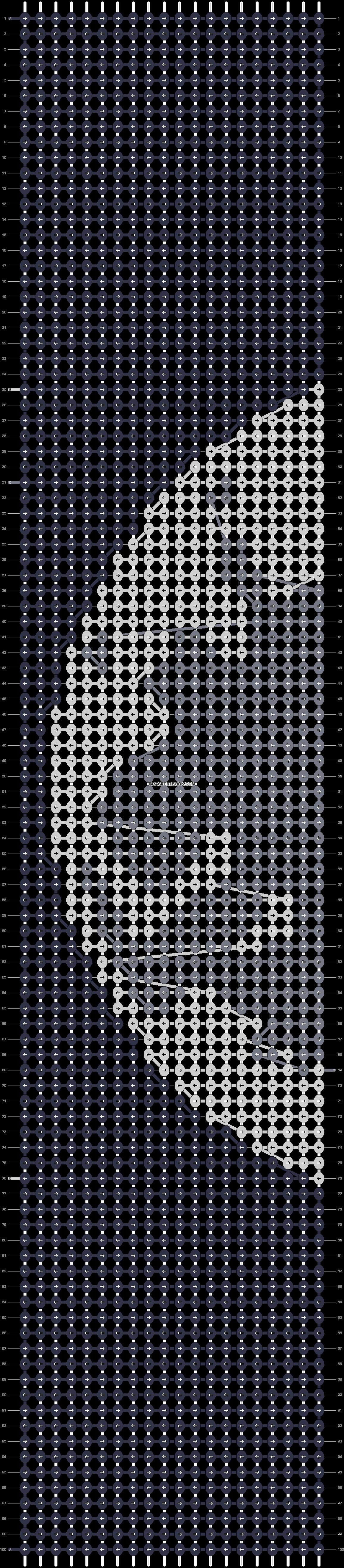 Alpha pattern #22465 pattern