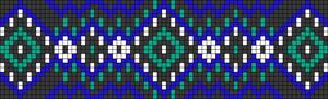 Alpha Friendship Bracelet Pattern #22466