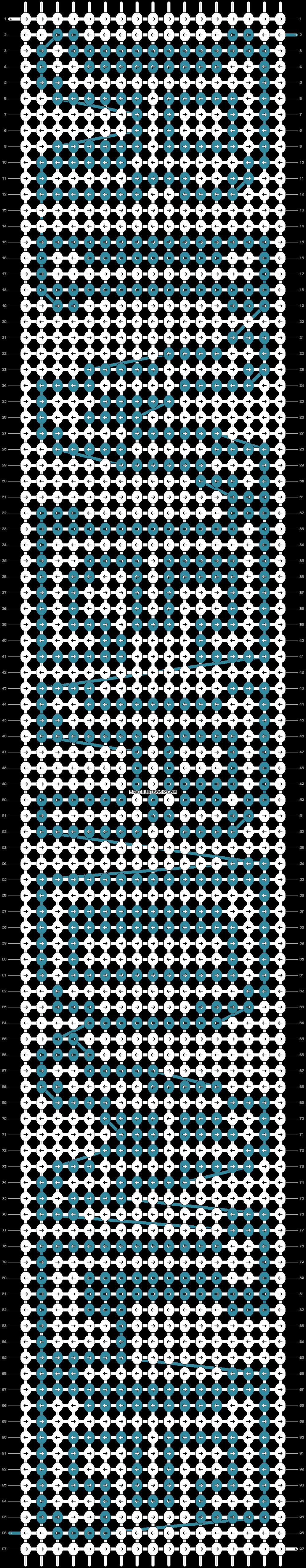 Alpha pattern #22467 pattern