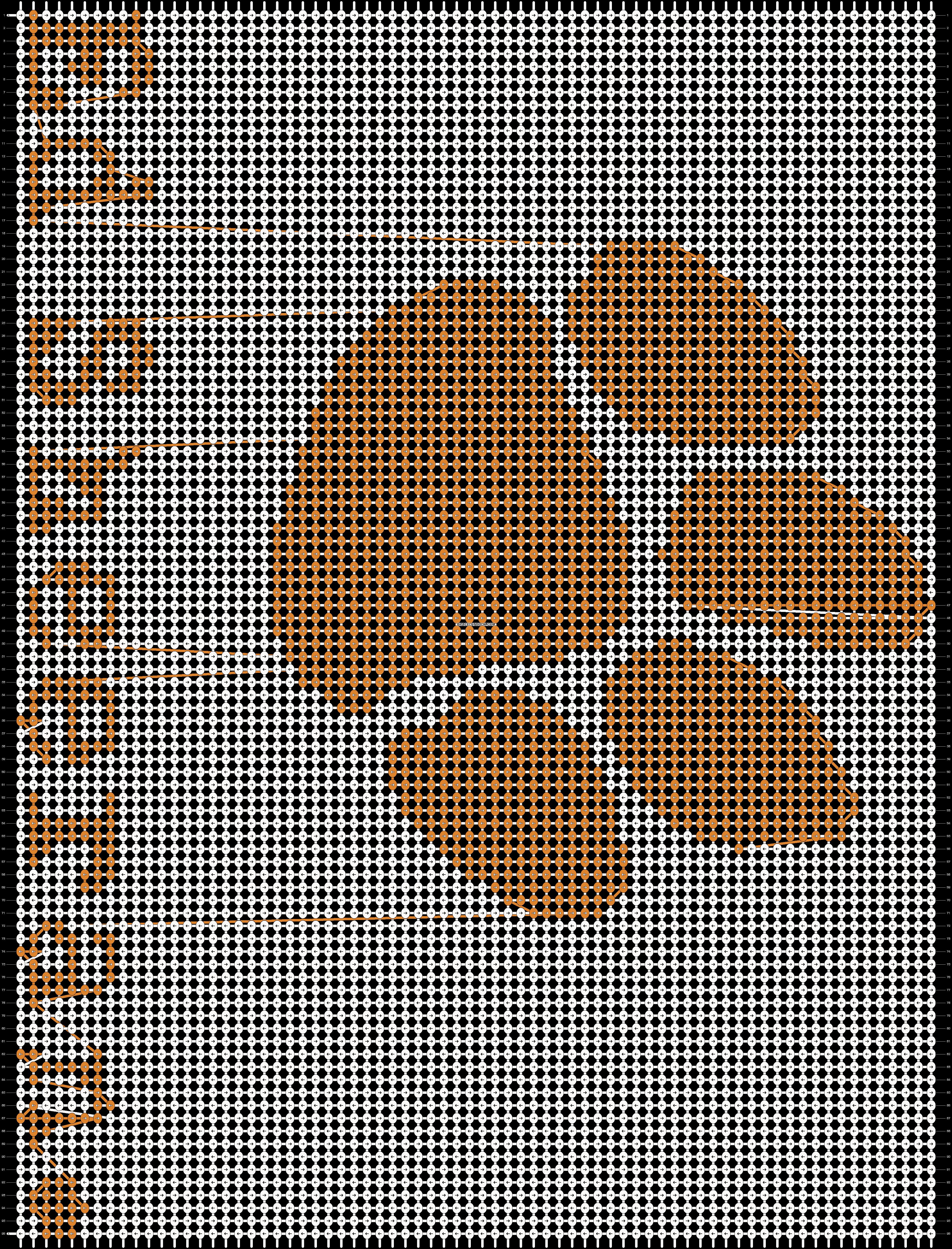 Alpha pattern #22469 pattern