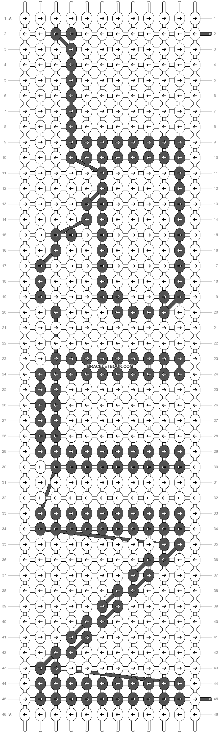 Alpha pattern #22493 pattern