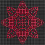 Alpha pattern #22495