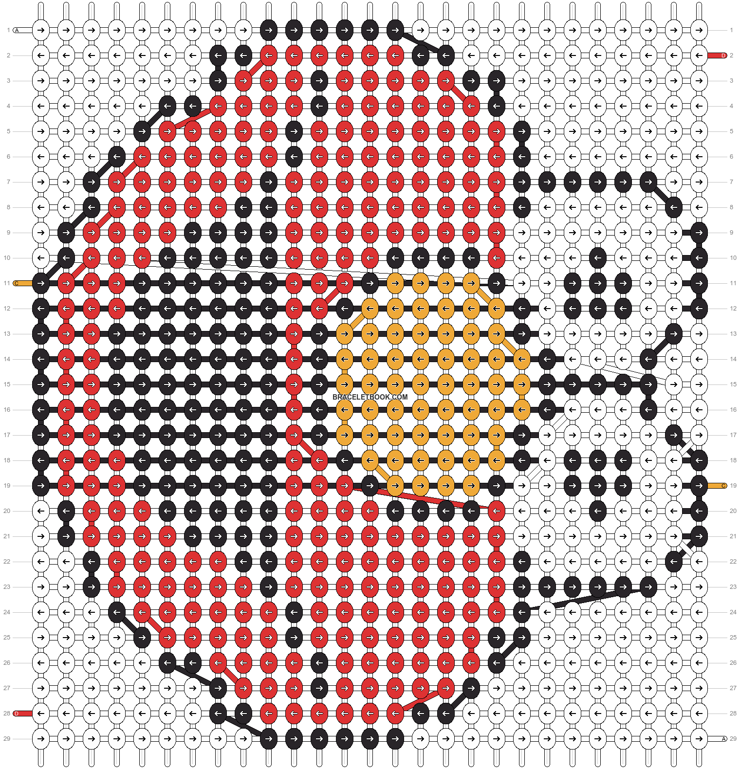 Alpha pattern #22505 pattern