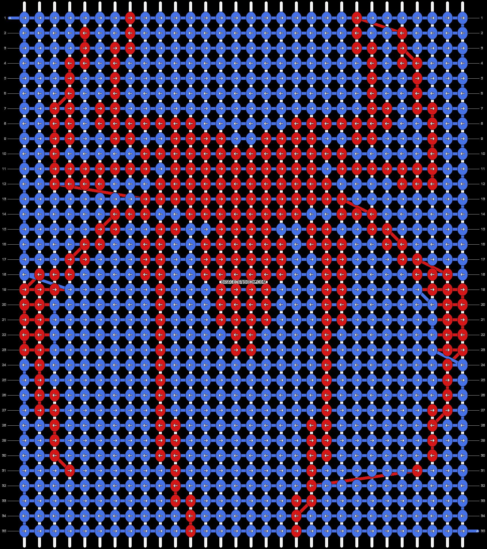 Alpha pattern #22512 pattern