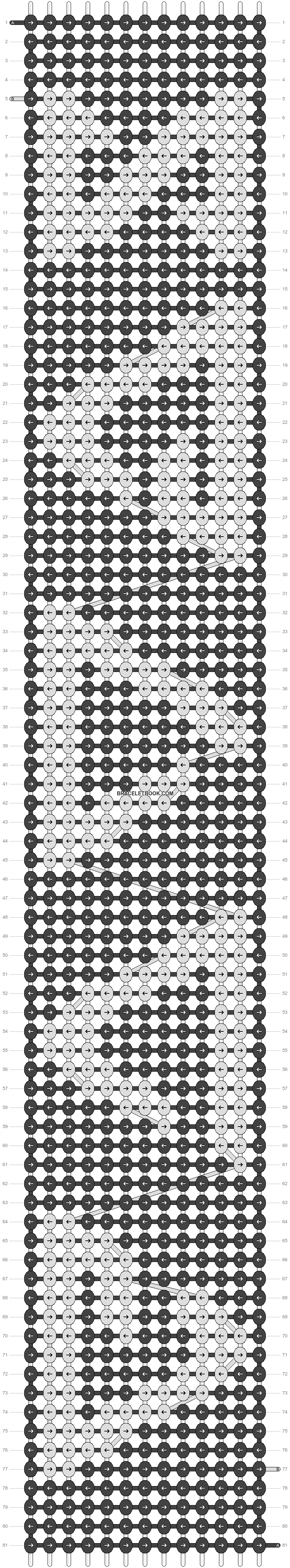 Alpha pattern #22513 pattern