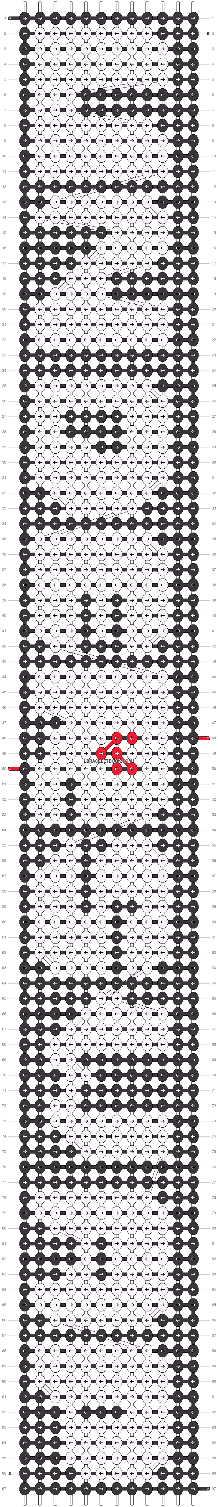 Alpha pattern #22514 pattern