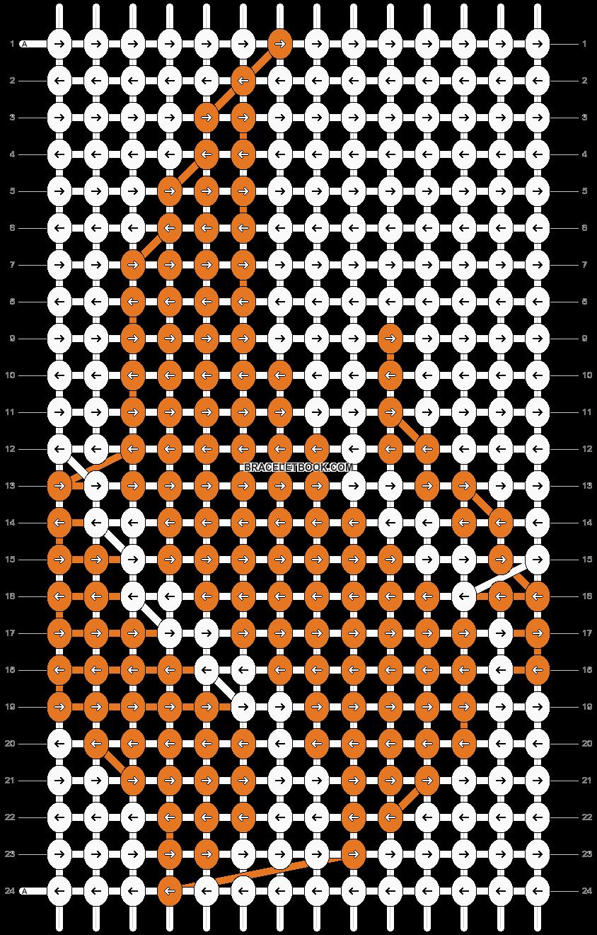 Alpha pattern #22533 pattern