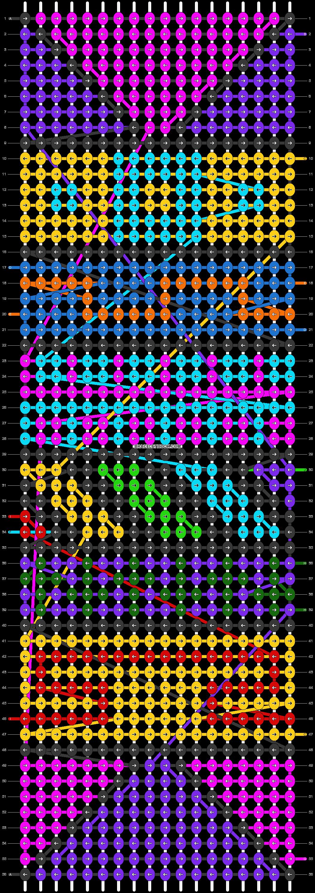 Alpha pattern #22539 pattern
