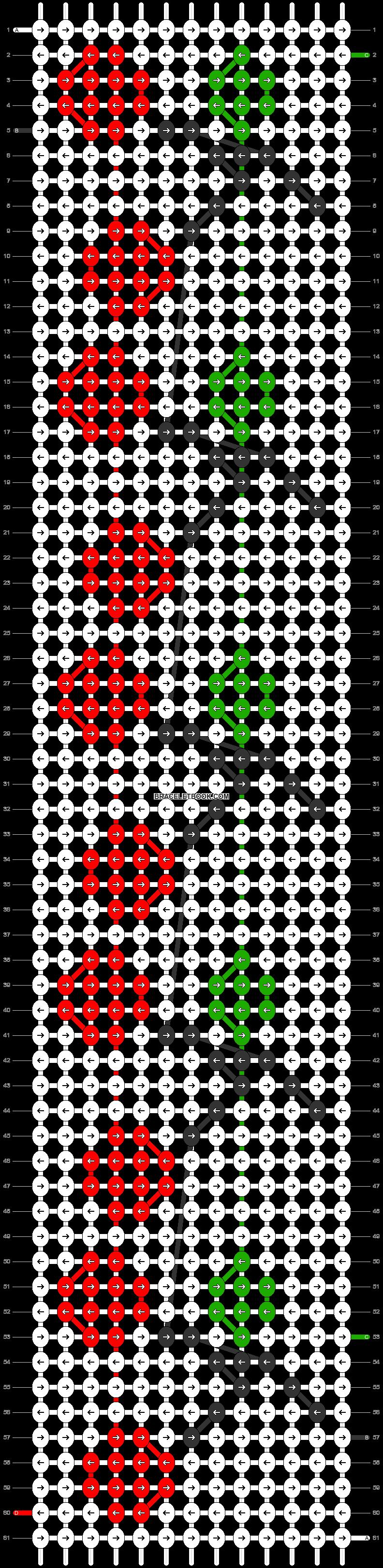 Alpha pattern #22573 pattern
