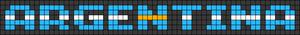 Alpha Friendship Bracelet Pattern #22582