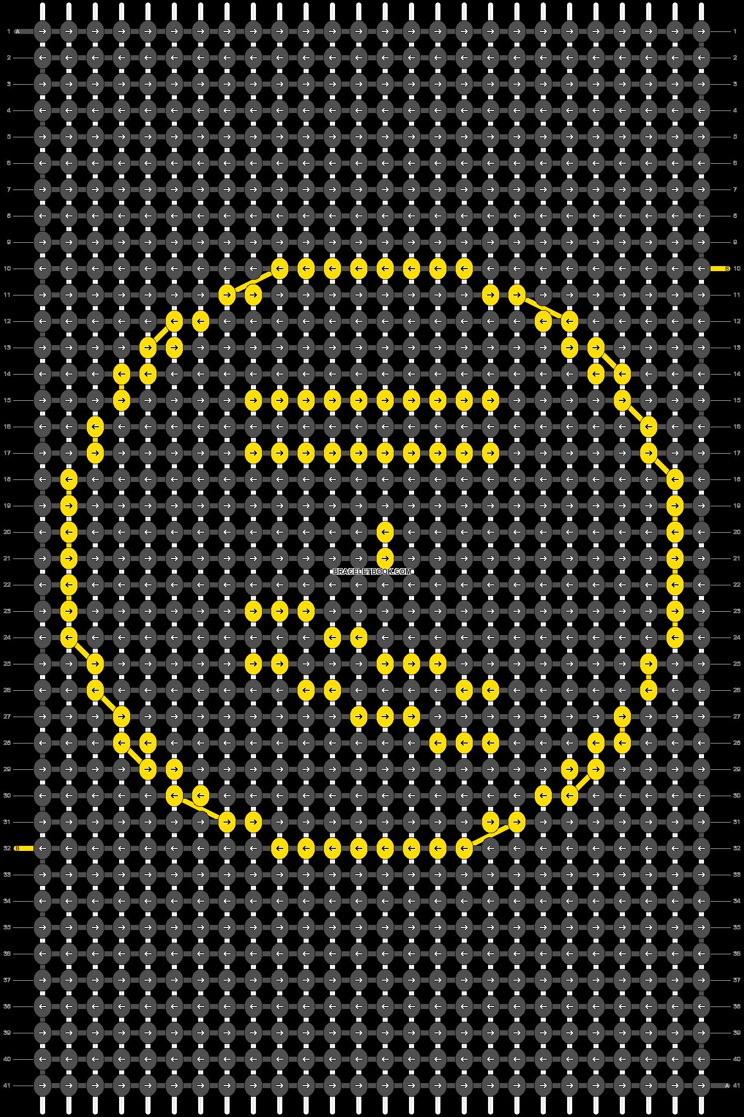 Alpha pattern #22585 pattern
