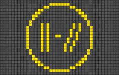 Alpha Friendship Bracelet Pattern #22585