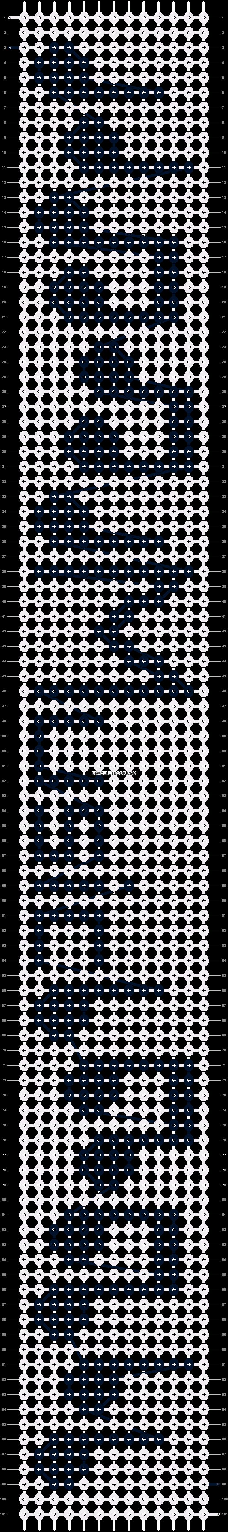 Alpha pattern #22595 pattern