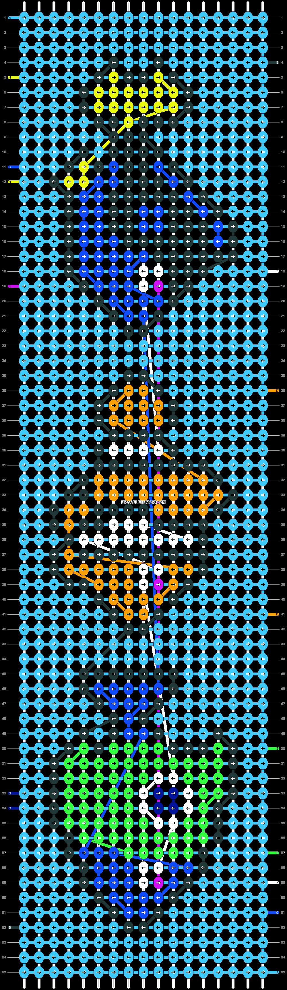 Alpha pattern #22597 pattern