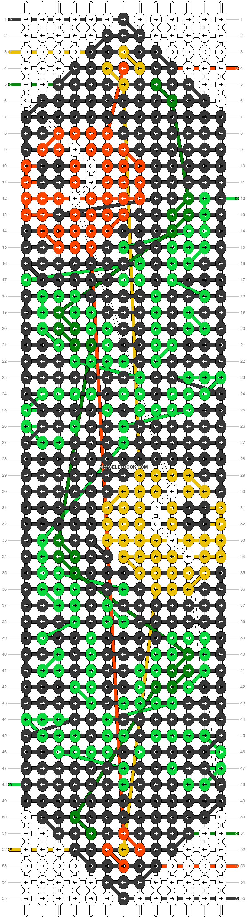 Alpha pattern #22605 pattern