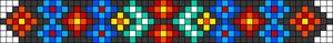Alpha Friendship Bracelet Pattern #22632
