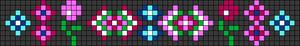 Alpha Friendship Bracelet Pattern #22634