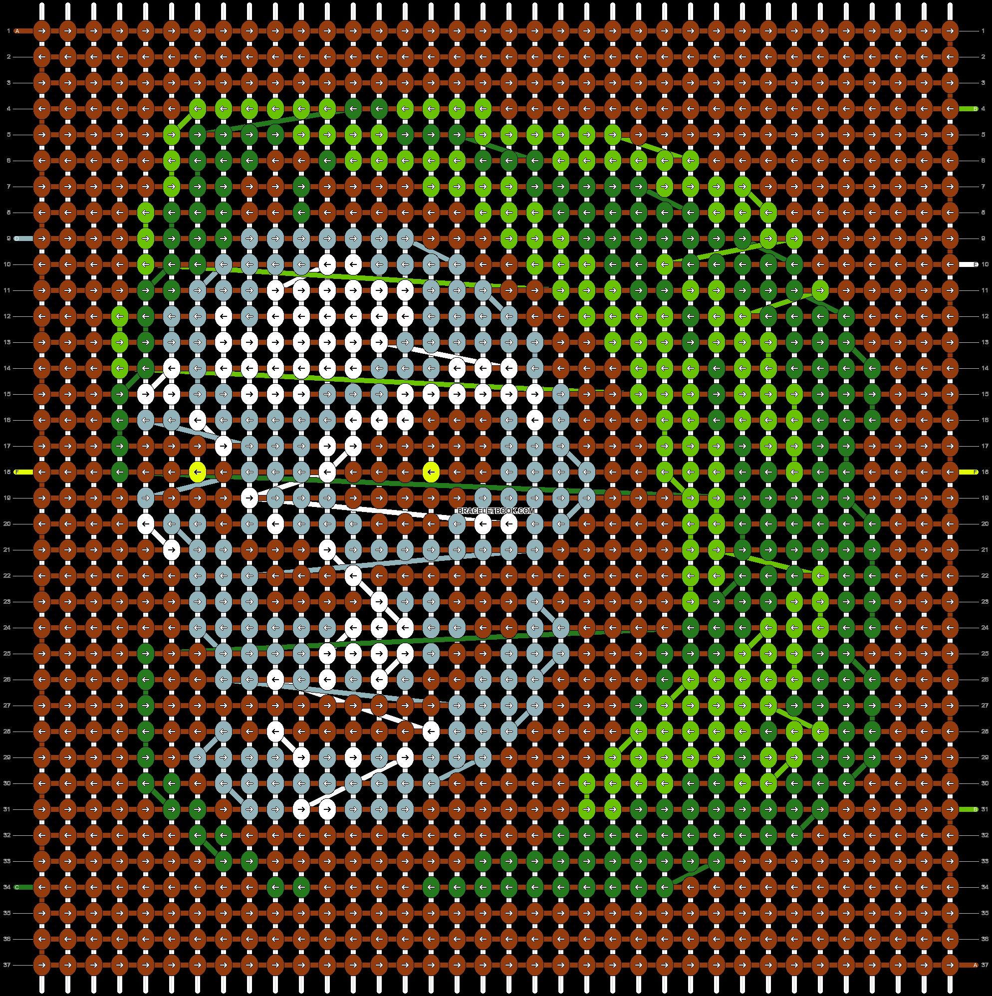 Alpha pattern #22671 pattern
