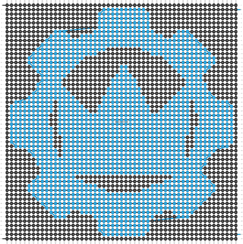 Alpha pattern #22673 pattern