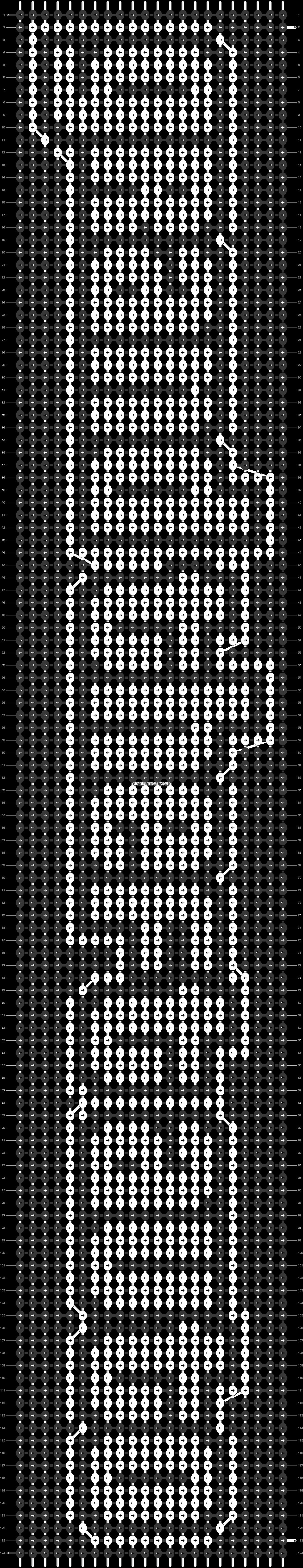 Alpha pattern #22694 pattern