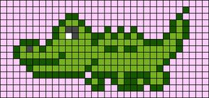 Alpha Friendship Bracelet Pattern #22696