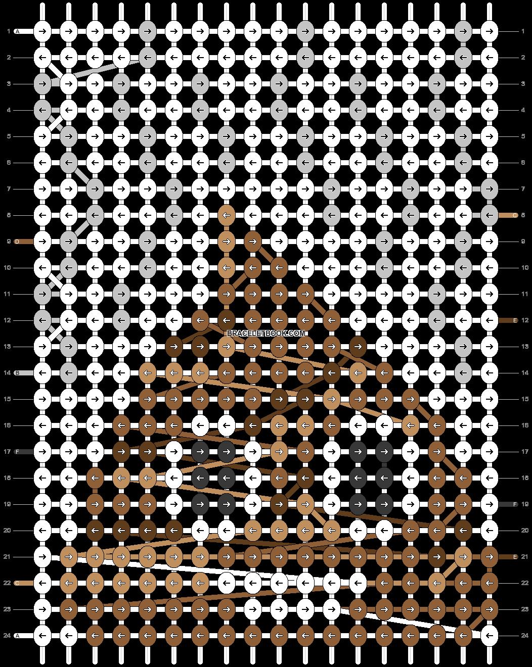 Alpha pattern #22702 pattern