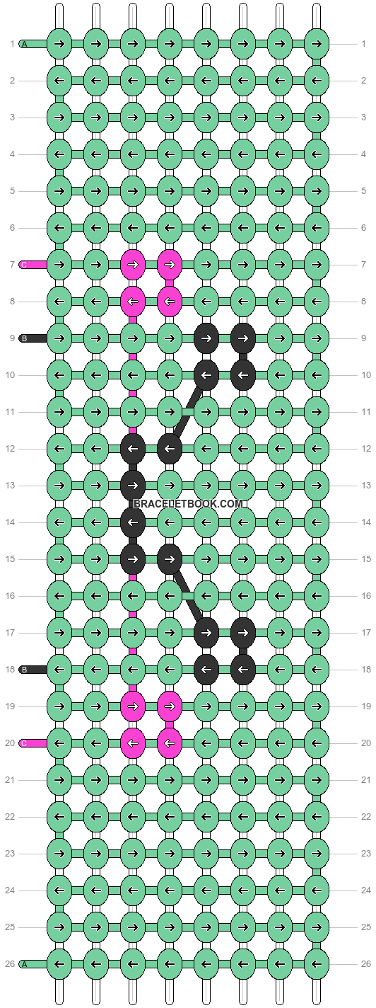 Alpha pattern #22707 pattern