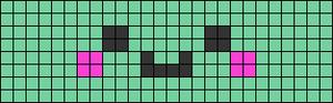 Alpha Friendship Bracelet Pattern #22707