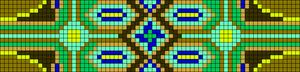 Alpha Friendship Bracelet Pattern #22714