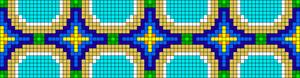 Alpha Friendship Bracelet Pattern #22715