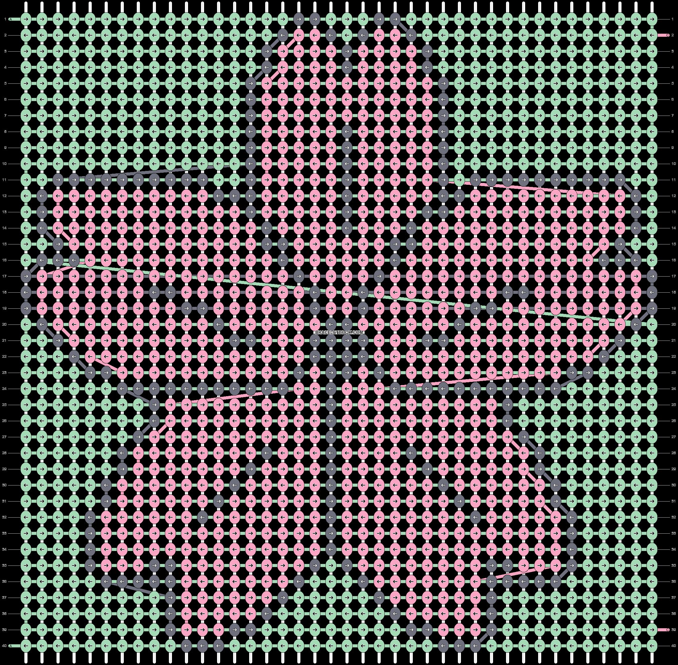 Alpha pattern #22724 pattern