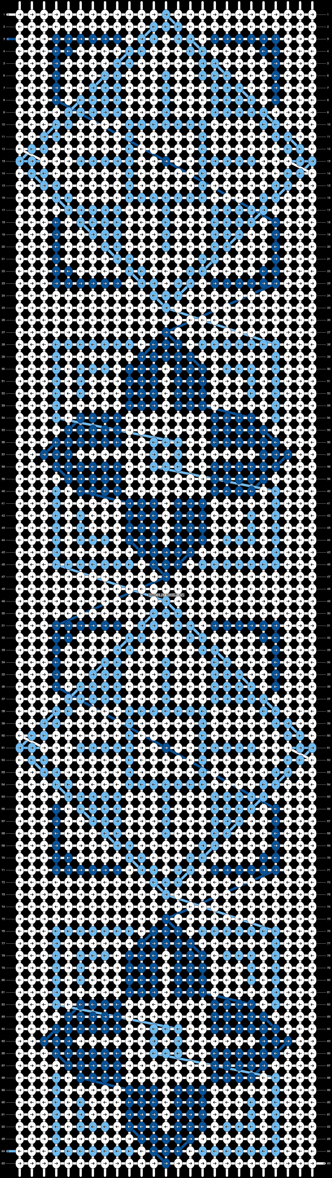 Alpha pattern #22725 pattern