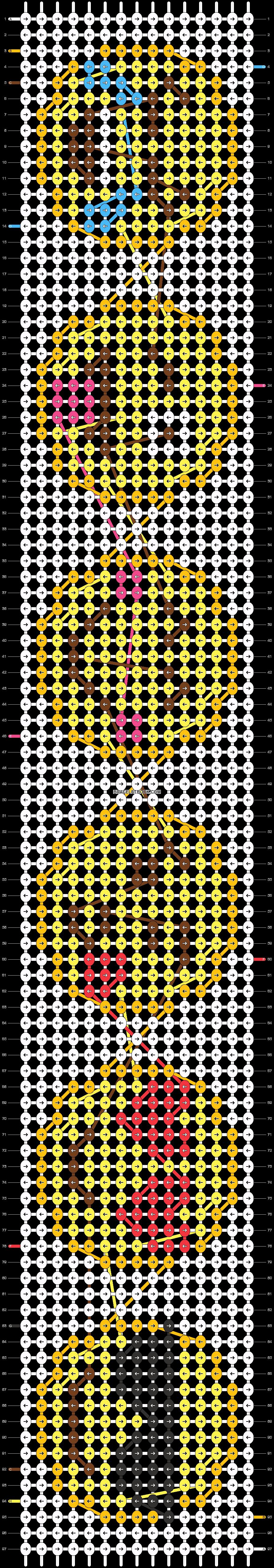 Alpha pattern #22821 pattern