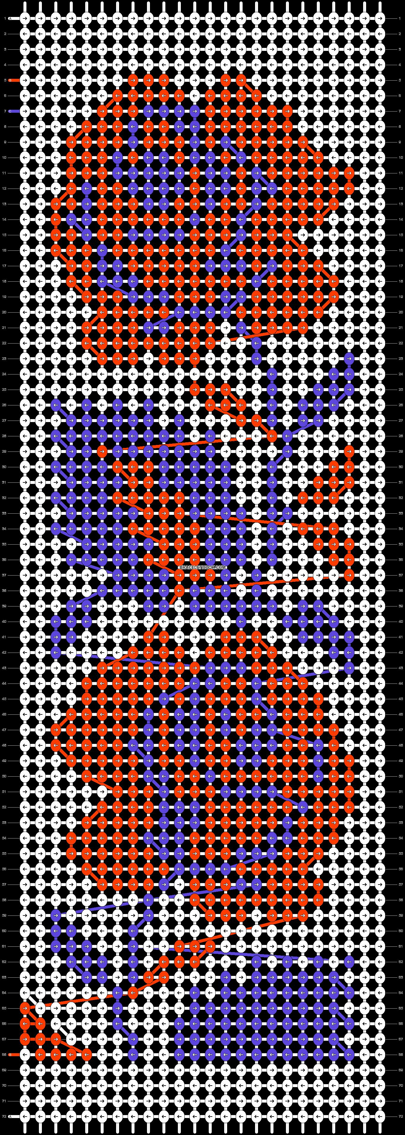 Alpha pattern #22832 pattern