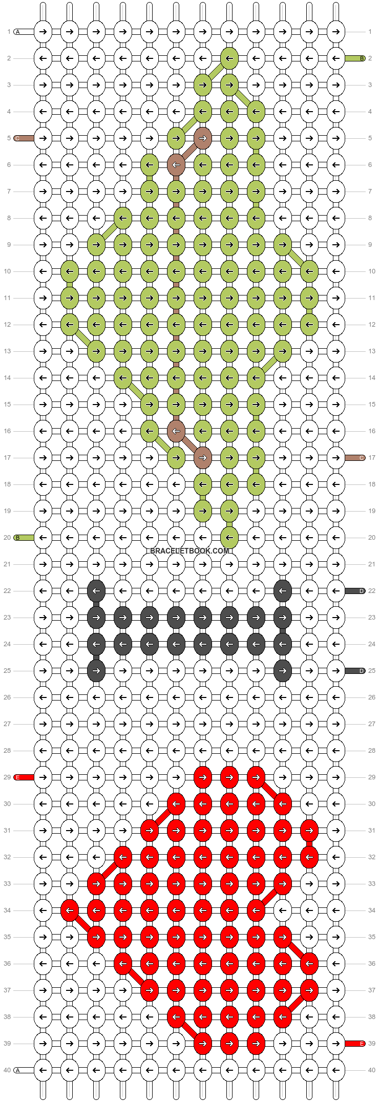 Alpha pattern #22834 pattern